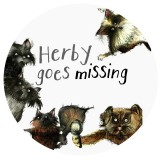 herby goes missing round button